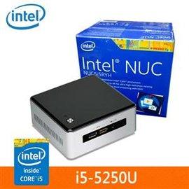 Intel NUC 迷你準系統電腦 BOXNUC5I5RYH i5-5250U (3M Cache, up to 2.70 GHz)