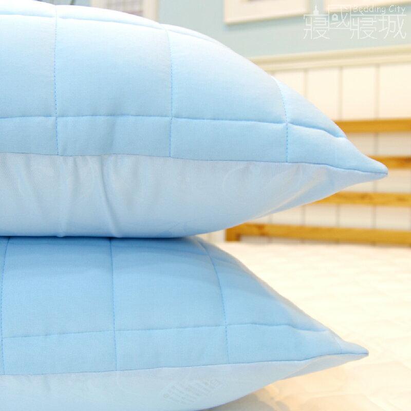 兩款任選-保潔墊枕套(2入) 【信封式、可機洗、柔軟舒適】 #寢國寢城 #台灣製 2