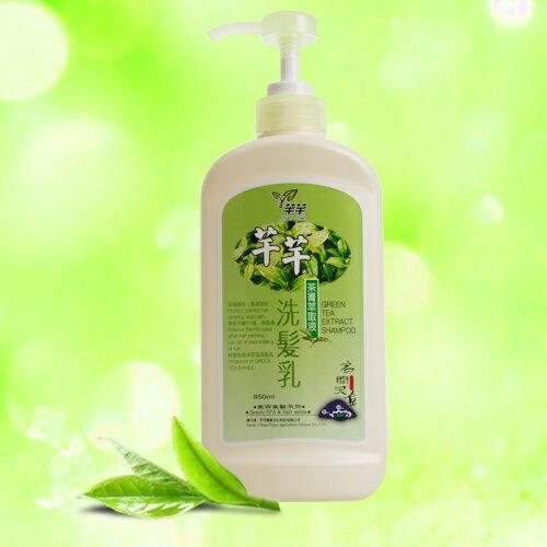 CHIAN-CHIAN 芊芊 : 茶菁系列 > 茶菁萃取液洗髮乳 850ml ?鎧霆健康生活小舖?