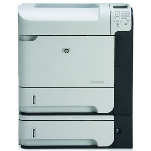 HP LaserJet P4515X Laser Printer - Monochrome - 1200 x 1200 dpi Print - Plain Paper Print - Desktop - 62 ppm Mono Print - Letter, Legal, Executive, Statement, Com10 Envelope, Monarch Envelope, Custom Size - 1100 sheets Standard Input Capacity - 275000 Dut 1
