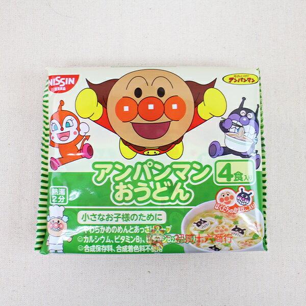 【0216零食會社】日本-日清4入麵包超人烏龍杯仔麵88g