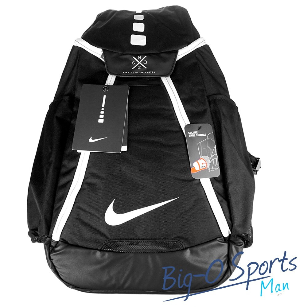 NIKE 耐吉 NIKE HOOPS ELITE MAX AIR TEAM BACKPACK 2.0 運動後背包 BA5259010 Big-O Sports