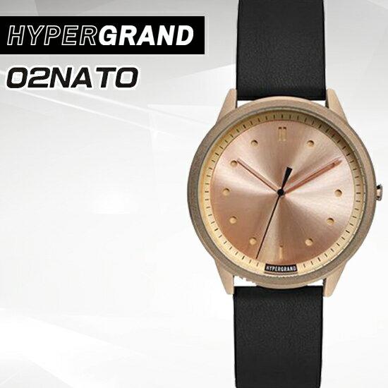 Hypergrand新加坡設計師品牌02基本款系列腕錶CW02RRBLK公司貨