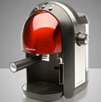 尾牙獎品推薦到【 尾牙禮品】【英國Morphy】義式濃縮咖啡機玫瑰紅 Meno Espresso就在得意專業家電音響推薦尾牙獎品