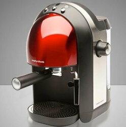 【 尾牙禮品最好選擇】【英國Morphy】義式濃縮咖啡機玫瑰紅 Meno Espresso