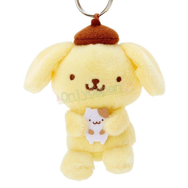 布丁狗 三麗鷗 鑰匙圈 吊飾 掛飾 包包配件 療育小物 女生配件 4901610635810 造型玩偶鑰匙圈-PN倉鼠ED112 真愛日本