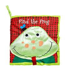 ★衛立兒生活館★美國Manhattan Toy軟布書-頑皮青蛙