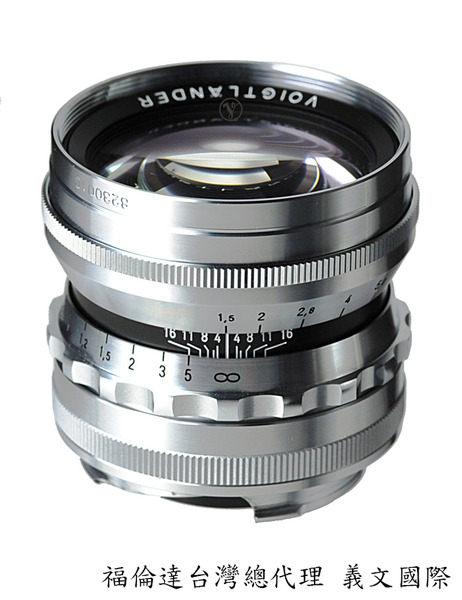 福倫達專賣店:Voigtlander Nokton 50mm/F1.5 ASPH 銀色(Leica,M6,M7,M8,M9,Bessa,R2M,R3M,R4M,R2A,R3A,R4A)