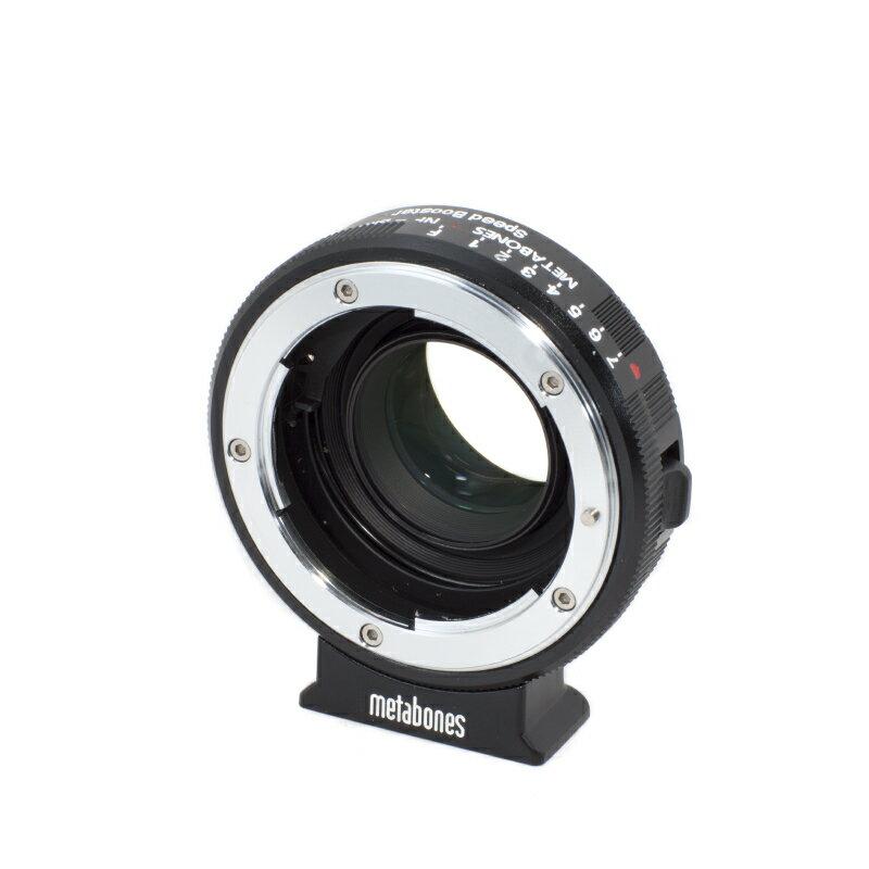 Metabones轉接環專賣店:Nikon G- BMPCC Speed Booster 轉接環(總代理義文公司貨)