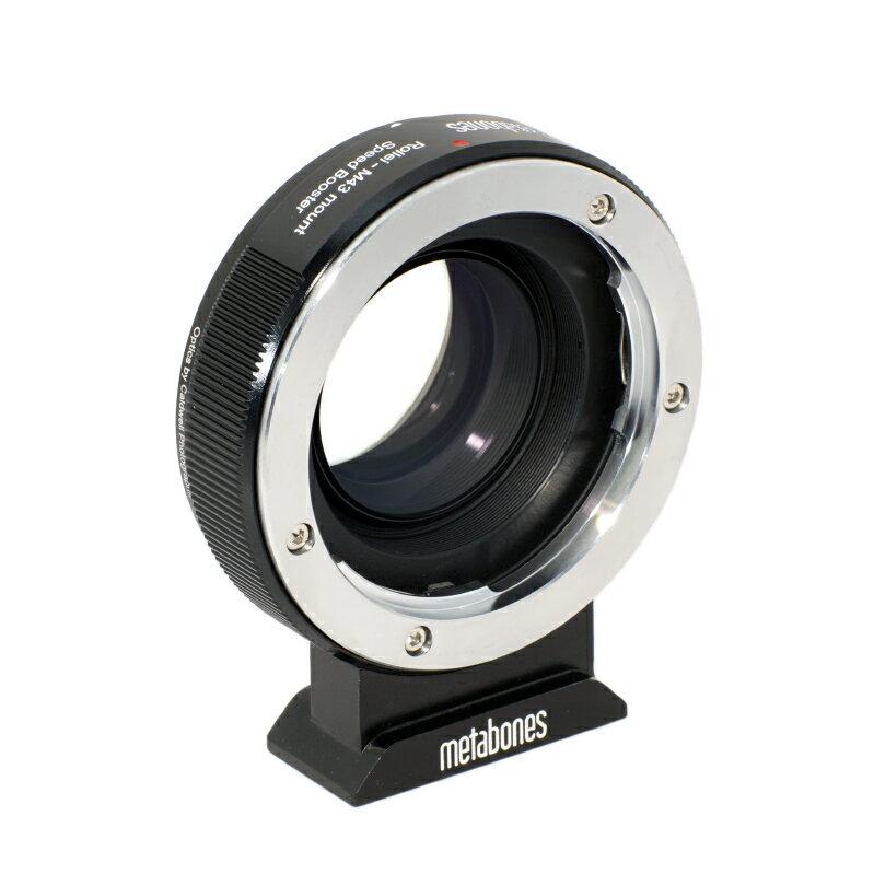 Metabones轉接環專賣店:Rollei - M43 Speed Booster 轉接環(總代理義文公司貨)