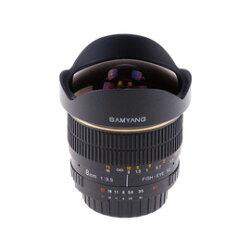 Samyang鏡頭專賣店:8mm/F3.5 Fisheye for Pentax PK II(魚眼 K10D K20D K200D K5)