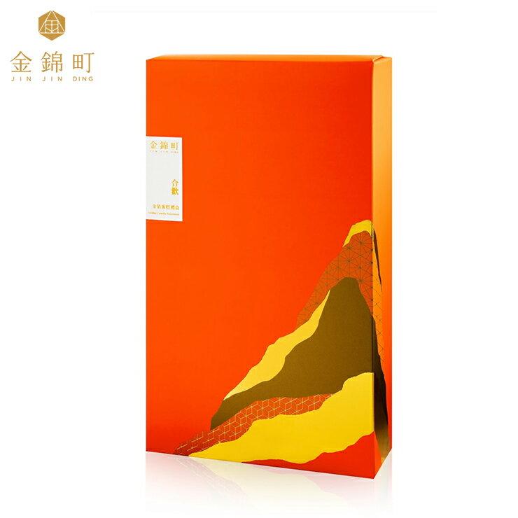 【金錦町】-合歡禮盒(大)-金雀&青鳥金箔蜂蜜蛋糕(原味+抹茶)