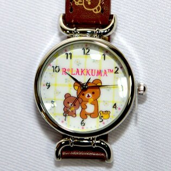 NOBA 不只是禮品:拉拉熊指針式手錶日本限定正版品Rilakkuma