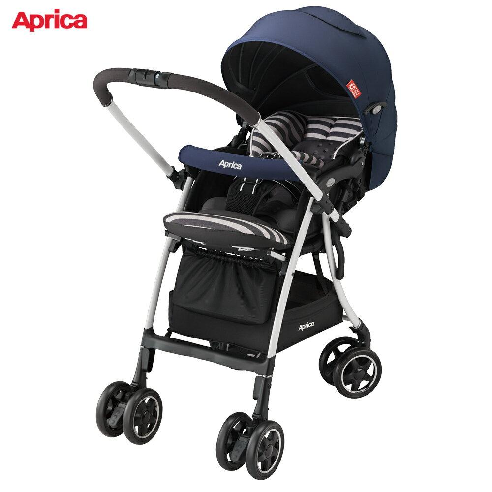 Aprica 雙向輕量型手推車 LUXUNA AD 音樂城堡 藍調和弦
