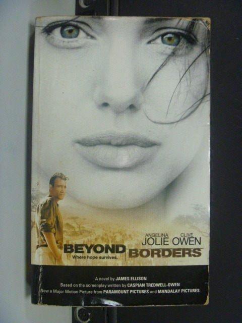 【書寶二手書T8/原文小說_KLL】Beyond borders : a novel_James