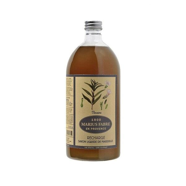 (任選3件享優惠折扣)MARIUSFABRE法鉑天然草本馬鞭草液體皂1L附壓頭