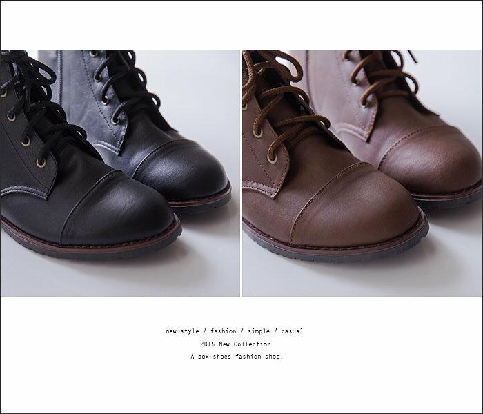 全店免運★APP下單799再折150 ★折價券碼 APP170624【KDW9989】MIT台灣製 個性輕旅行 皮革素面側拉鍊綁帶式 粗低跟超舒適短靴 機車靴 2色 2