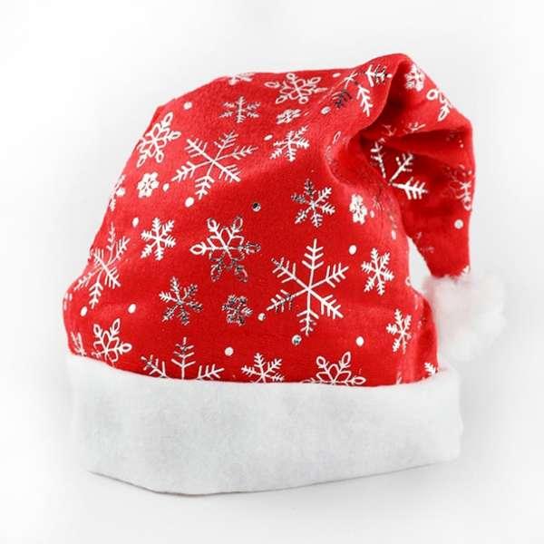 耶誕派對~毛絨邊雪花 聖誕帽 YS~XH10007