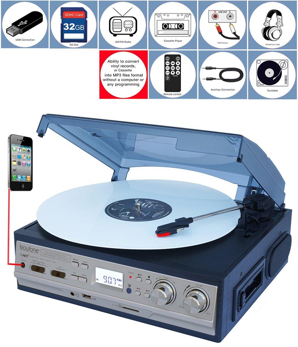 electronic palace boytone bt 17djs c record cassette. Black Bedroom Furniture Sets. Home Design Ideas