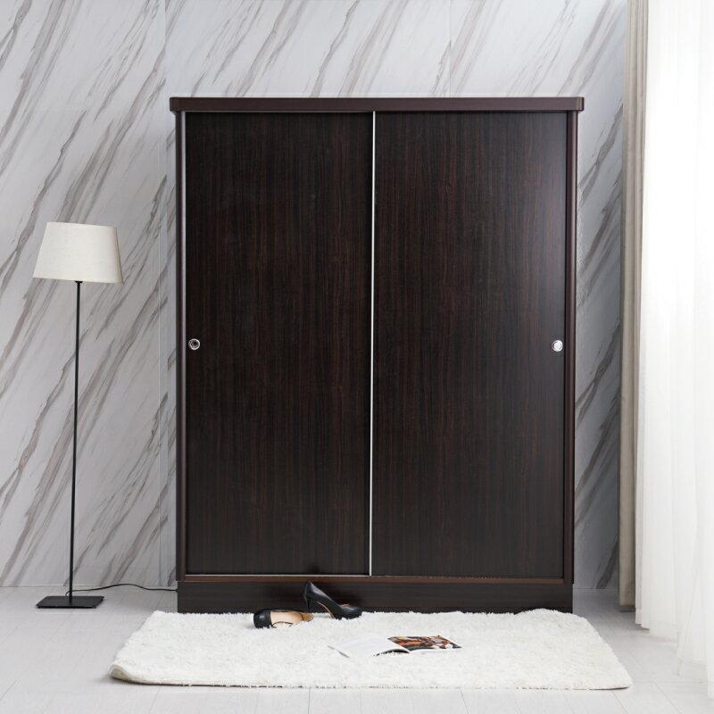 衣櫃【YUDA】美化4*7尺 六分木心板 拉門 / 推門 衣櫥 / 衣櫃 (不含內鏡 可加購) 新竹以北免運 3