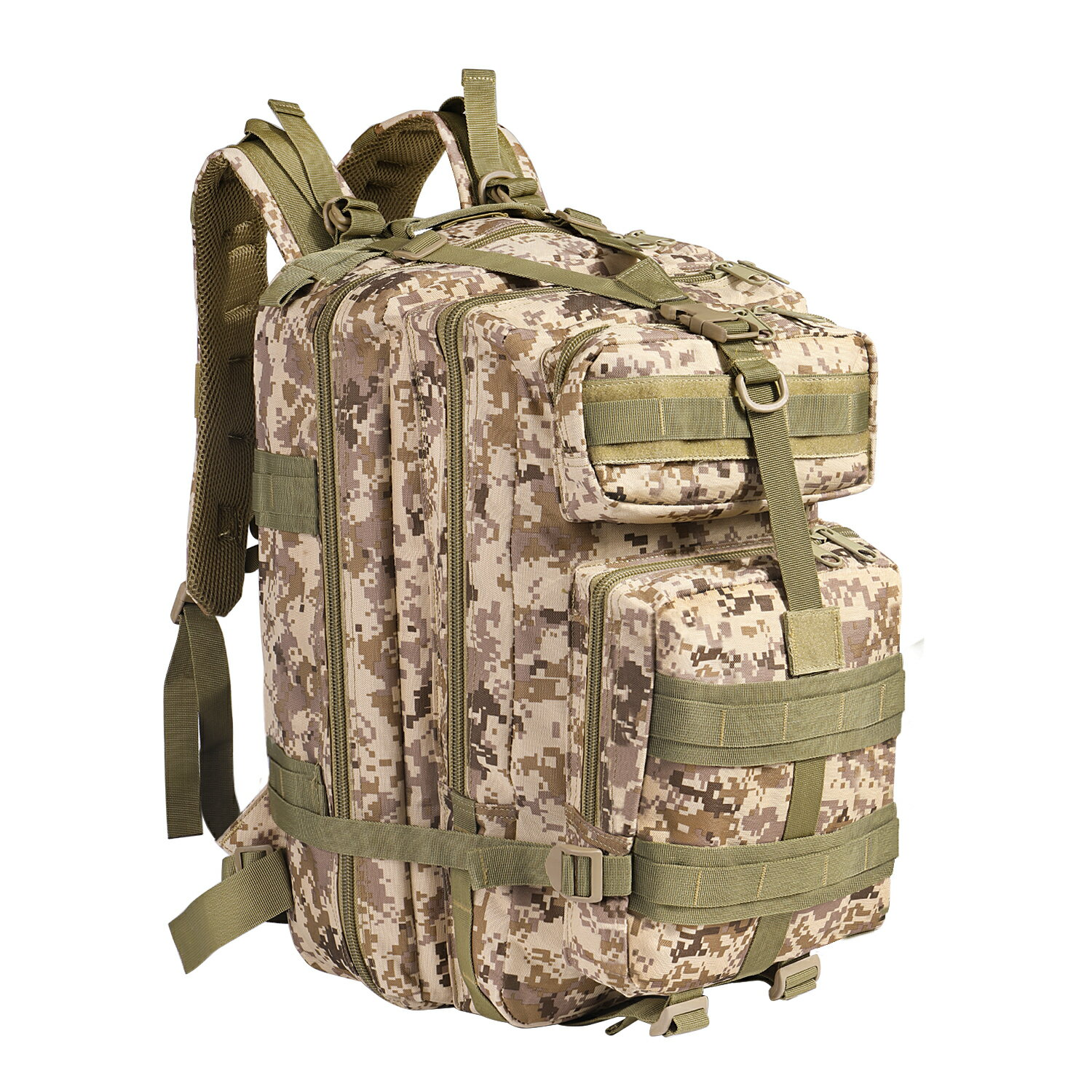 Army Hiking Backpack- Fenix Toulouse Handball b2011af850089