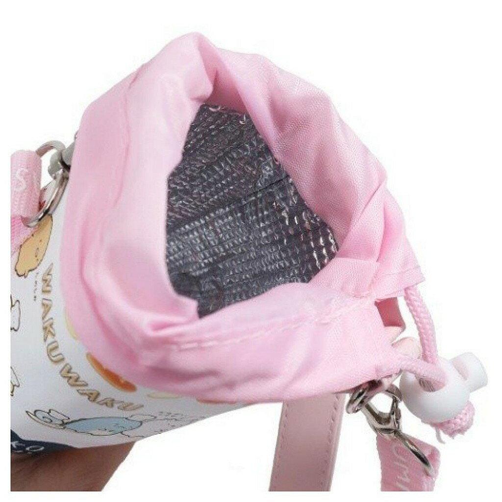 【積文館】保溫瓶袋 水壺套 日本進口 角落小生物 角落公仔 保冷保溫(8.2*20cm) 3