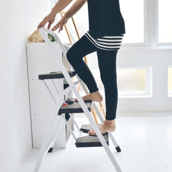 馬椅梯 A字梯 三層折疊家用梯 樓梯椅 MIT 製 完美主義【R0050】