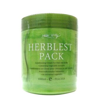MEEKWAY 葉綠素(頭皮/髮)調理霜(進口台灣分裝) 1000ml