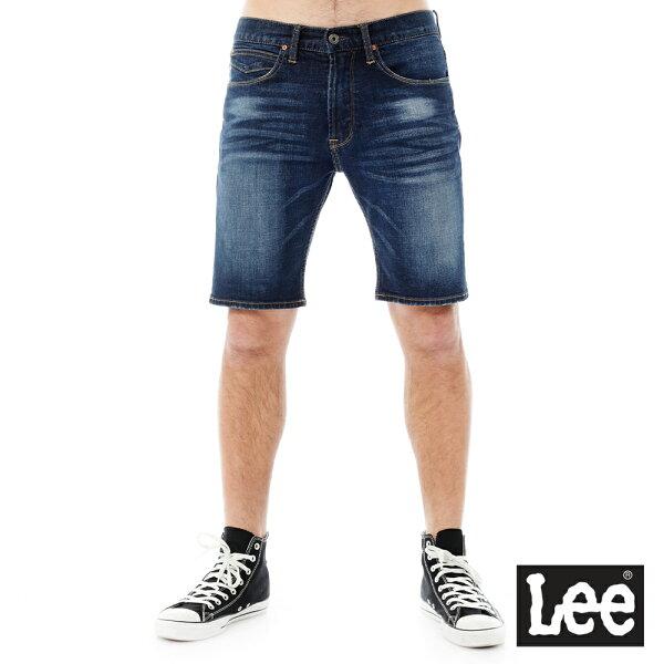 【季末出清5折】Lee 牛仔短褲/101+-男款