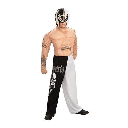 Boys WWE Deluxe Rey Mysterio Junior Costume 0