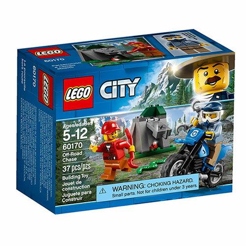 樂高積木LEGO《 LT60170 》2018 年 CITY 城市系列 - 越野追逐戰