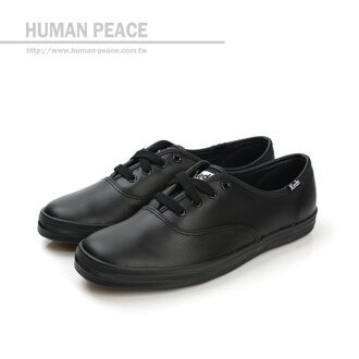 Keds 皮革 舒適 戶外休閒鞋 黑 女款 no167