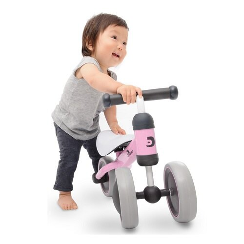 寶寶滑步平衡車- 櫻花粉/ PINK / D-bike mini/ 學步車/ IDES/ 伯寶行