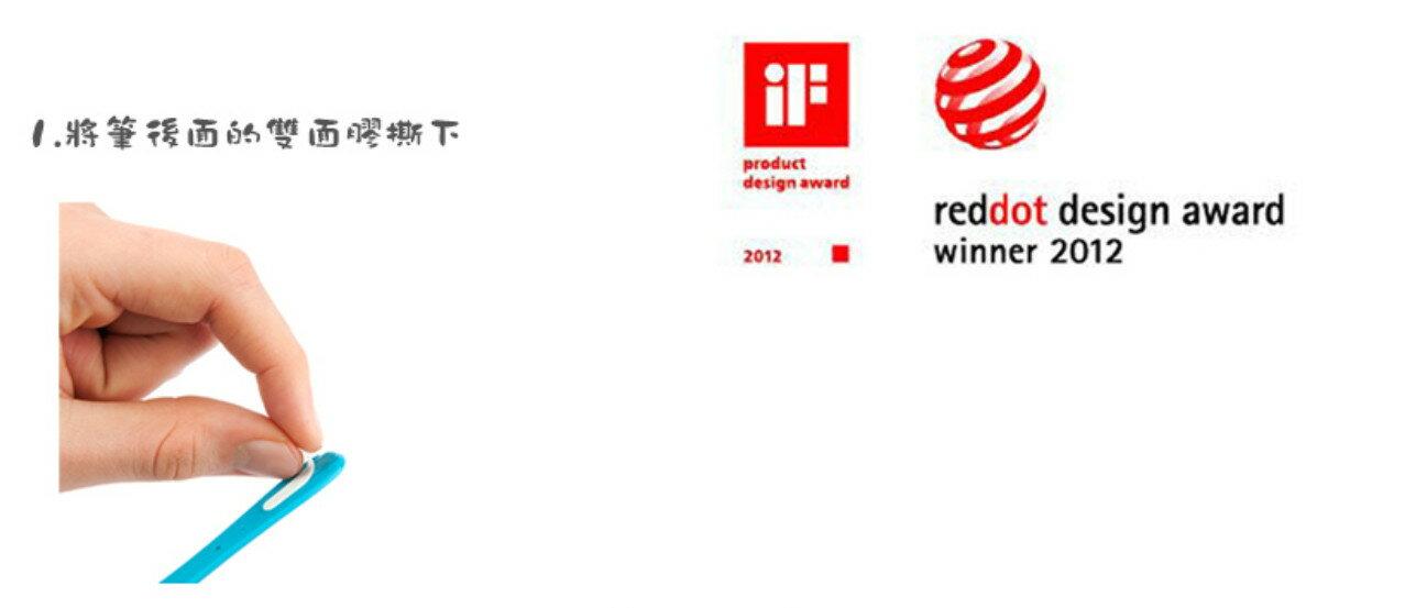 荷蘭設計 Bobino  4mm原子筆 (瘦瘦筆)  紅點設計獎 2