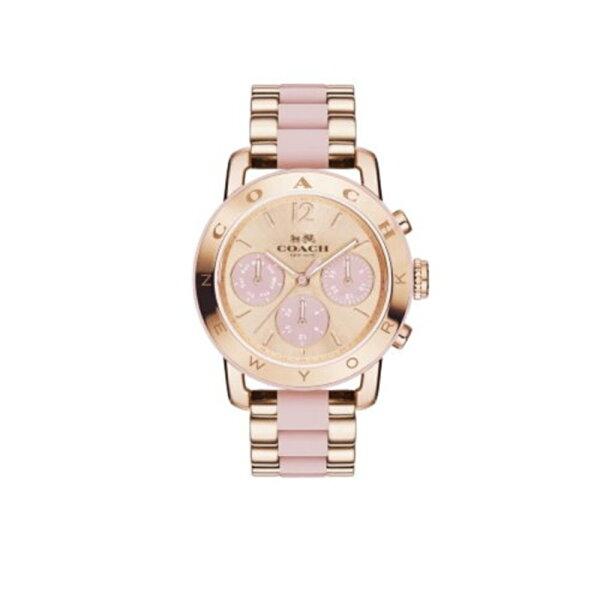 COACH時尚動人耀眼腕錶白14502535