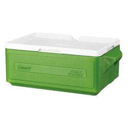 《台南悠活運動家》COLEMAN CM-1327 23.5L 置物型冰桶(綠)