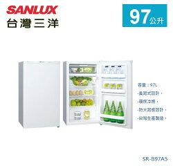 【佳麗寶】-《台灣三洋 / SANLUX 》單門冰箱-97L【SR-B97A5】