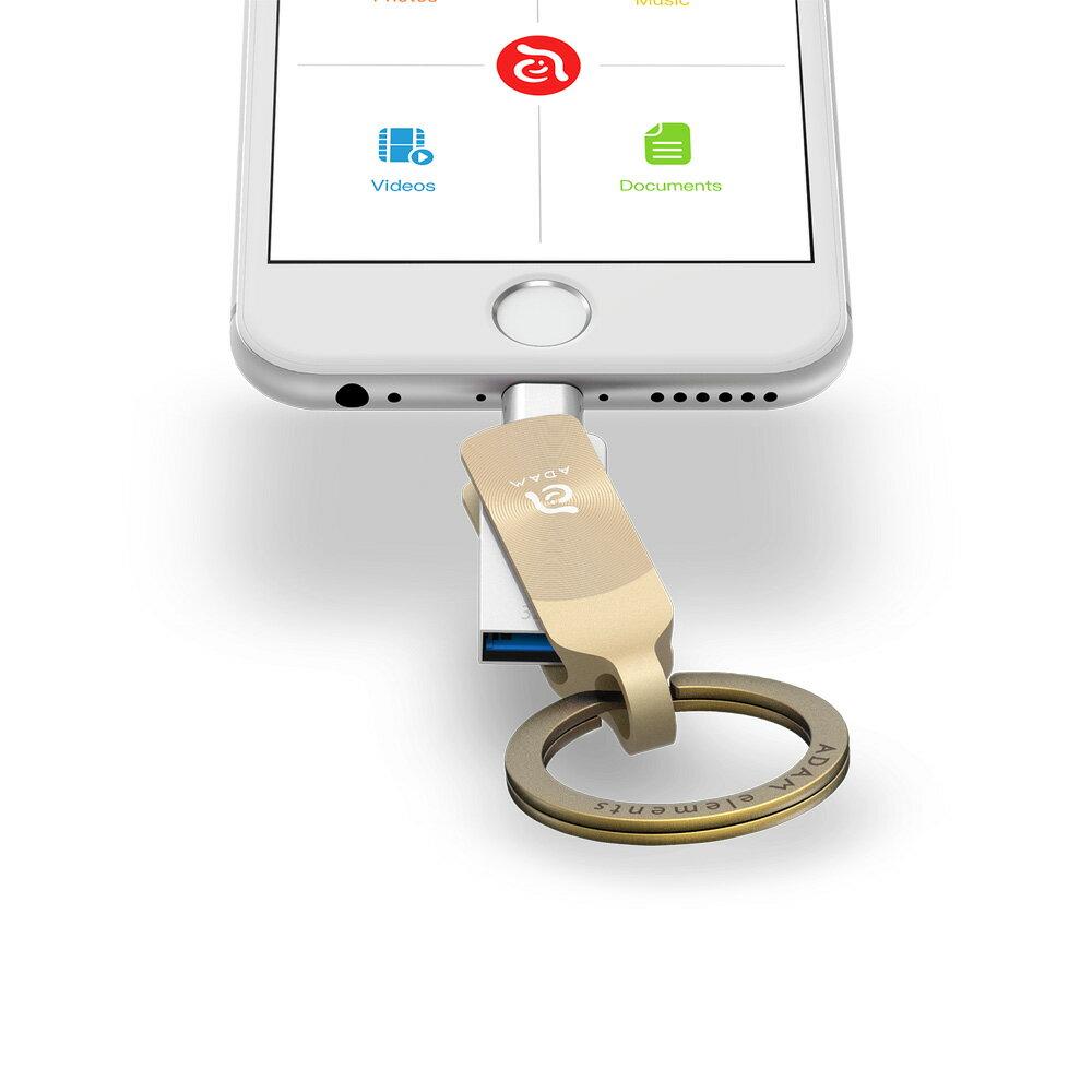 iKlips DUO + Apple 專用雙向USB 3.1 極速多媒體行動碟 32GB【亞果元素】 蘋果/APPLE/手機/3C/iPhone/儲存/隨身碟/輕便 6