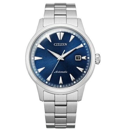 CITIZEN星辰復古簡約機械腕錶NK0008-85L