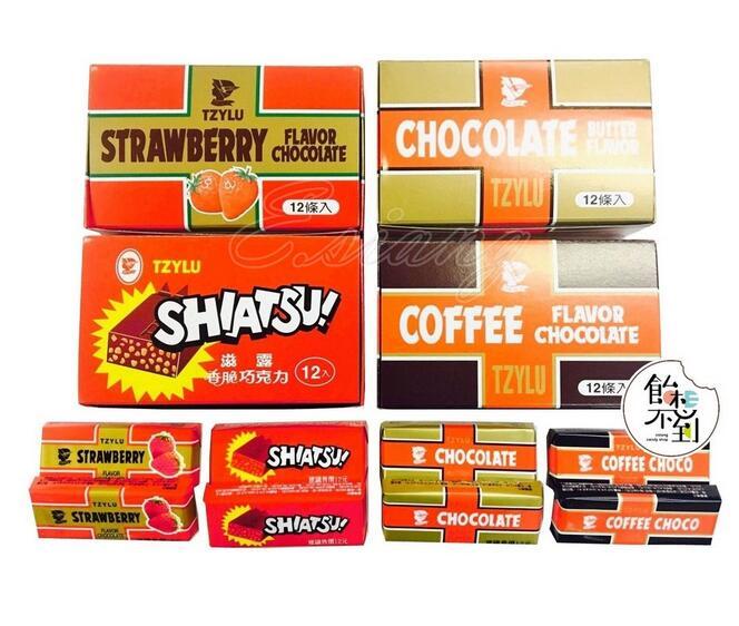 〚巧口樂〛滋露巧克力21g*12入 - 奶油/咖啡/草莓/香脆
