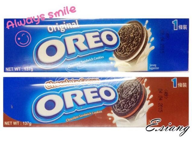 OREO夾心餅乾137g - 香草 / 巧克力
