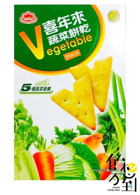 〚喜年來〛大國民蔬菜餅乾80g