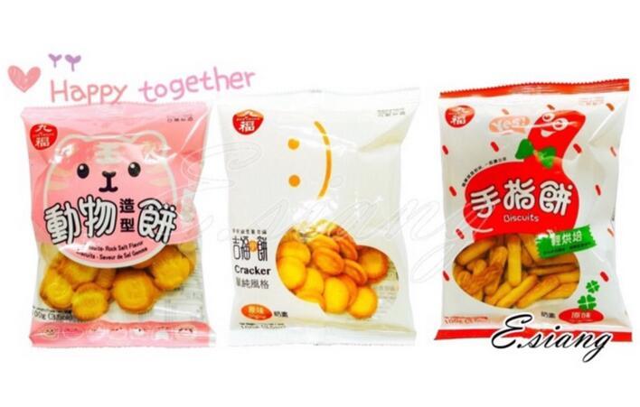 〚鴻福〛九福動物造型餅/手指餅/吉福小餅/手指餅100g