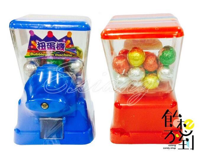 糖果扭蛋機24g/1入 內附迷你巧克力 (8.5x5x5cm)