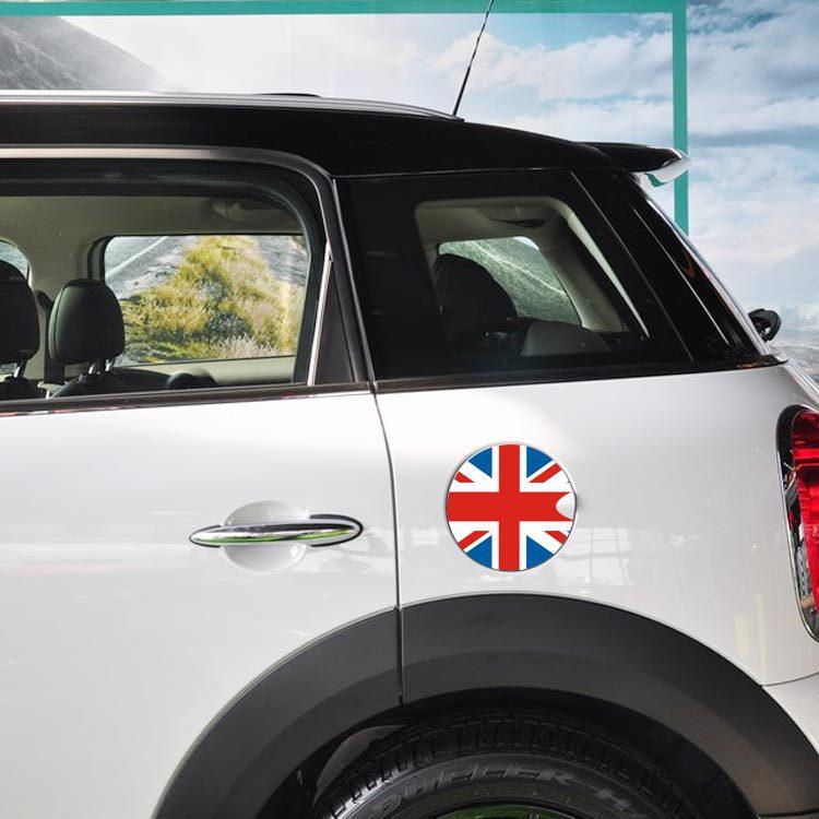 MINI 油箱貼 mini COOPER 油箱貼拉花 貼紙 裝飾車貼R53 R56 R58 沂軒精品 A0063