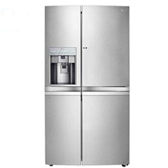 買再送好禮!LG 樂金 775L門中門魔術空間對開冰箱-精緻銀【GR-DP78N】【小蔡電器】