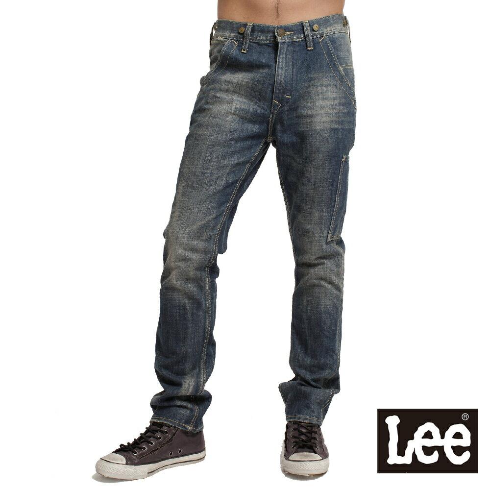 【單一價↘899】Lee 730中腰舒適小直筒牛仔褲-男款(中古藍)