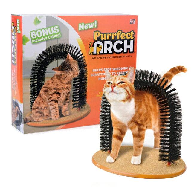 <br/><br/>  purrfect arch 貓刷 蹭毛刷 蹭毛器 逗貓玩具<br/><br/>