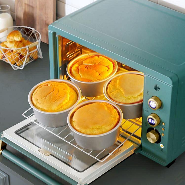 618限時搶購 電烤箱 家用烘焙多功能全自動大升容量智慧迷你小蛋糕 8號時光特惠