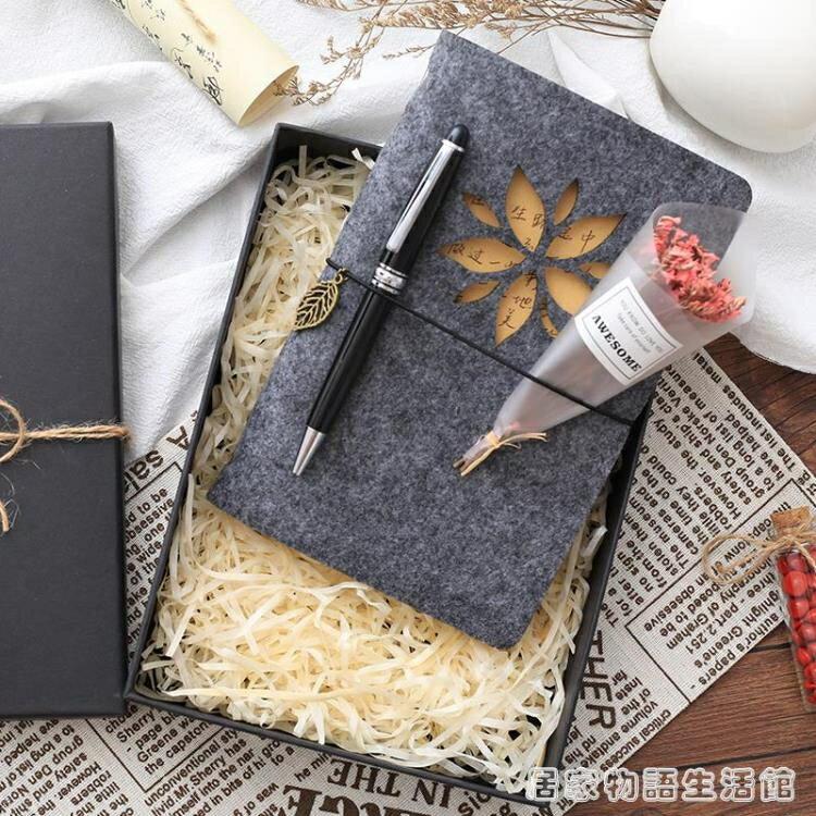 中國風手帳本禮盒套裝古風可愛小清新復古筆記本子學生用少女網紅 8號時光全館免運